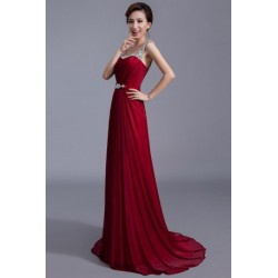 Sweet Heart Shimmering Long Evening Gown