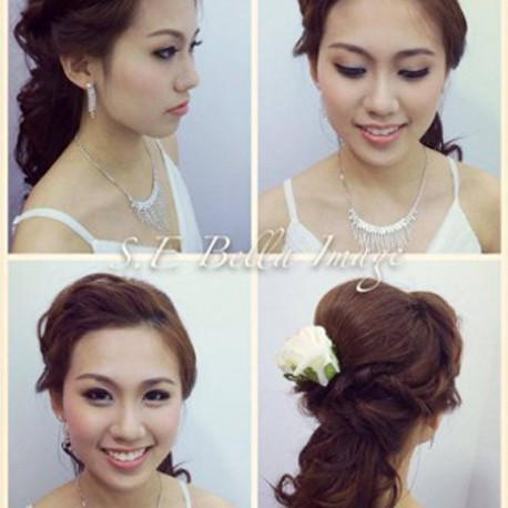 Makeup and Hairdo (Stayback + Touch Up)