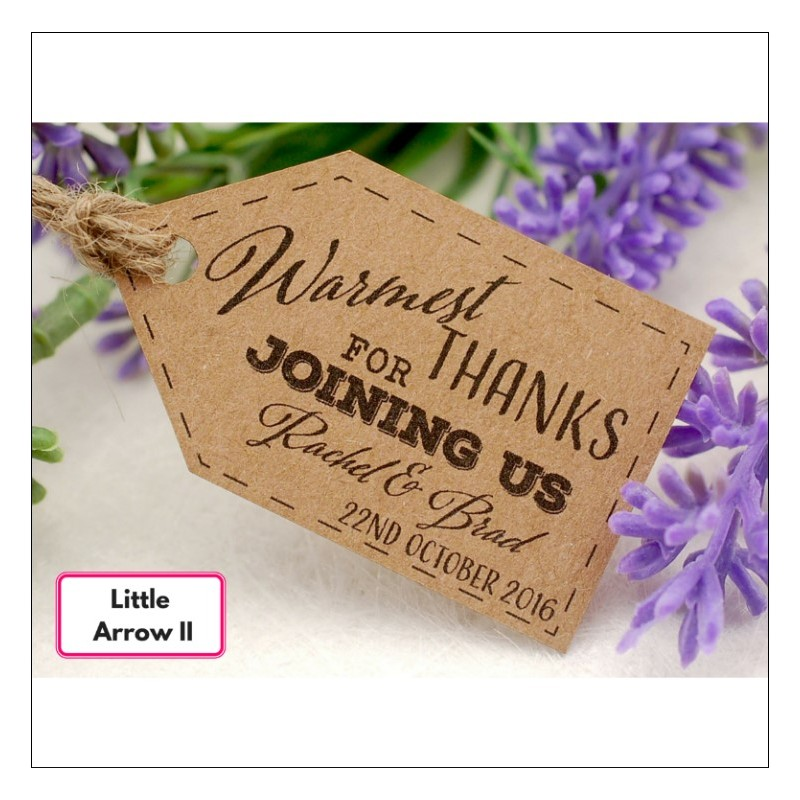 Home > Gifts & Cards > Personalized Kraft Wedding Favor Gift Tags w...