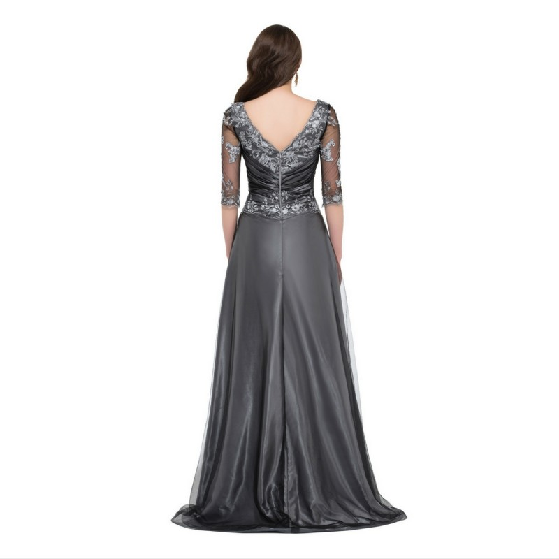 Sleeved Evening Dresses 46