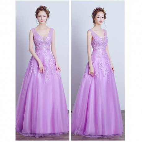 2016 New Spring & Summer Sleeveless Evening Dress