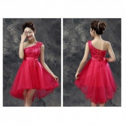 New Spring & Summer Toga Bridesmaid Dress