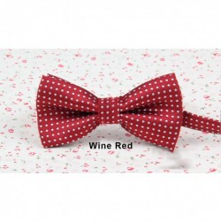 High Quality Colorful Polka Dots Bow Tie-A
