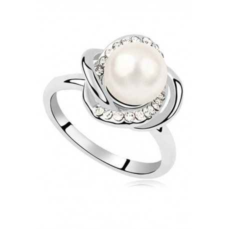 Pearl Collection 3 Bridal Engagement Ring (3 Colors)