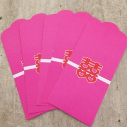 Pink Double Happiness Envelope