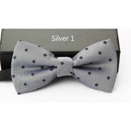 Korean Style High Quality Printed Matte Bow Tie