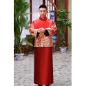 High Quality Chinese Traditional Cheongsam Phoenix Suit