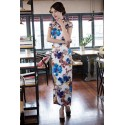 2017 New Arrival Chinese Traditional Long Cheongsam
