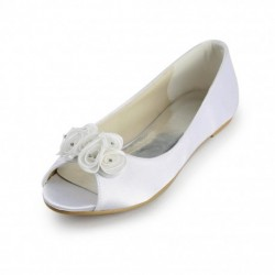 Melissa Flat Bridal Shoes
