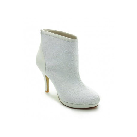 Lindsay Basic Platform Wedding Shoes