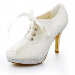 Lydia Platform Heel Wedding Shoes