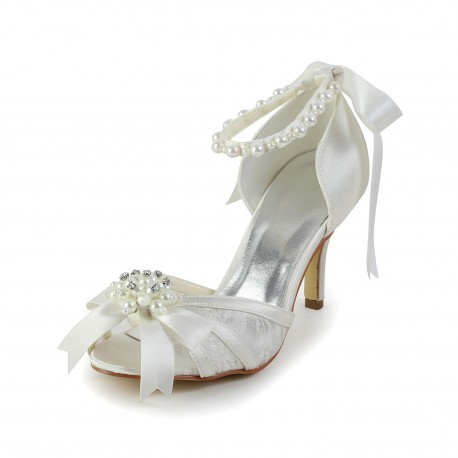 Preston Open-Toe Wedding Shoes
