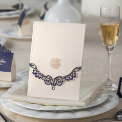 Elegant Crystal Envelop Wedding Invtiation Card