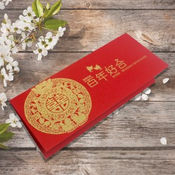 Chinese Wedding Card ( SPM86019R )