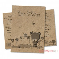 Kraft Paper Invitation Cards - 15