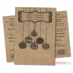 Kraft Paper Invitation Cards - 19