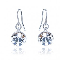 Kelvin Gems Glam Veda Light Hook Earrings m/w SWAROVSKI Elements