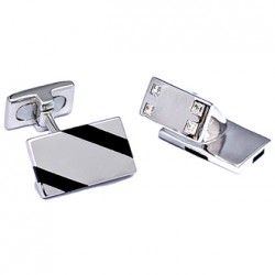 Kelvin Gems Costa Cufflinks 925 Sterling Silver