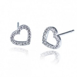 Kelvin Gems Premium My Heart Stud Earrings