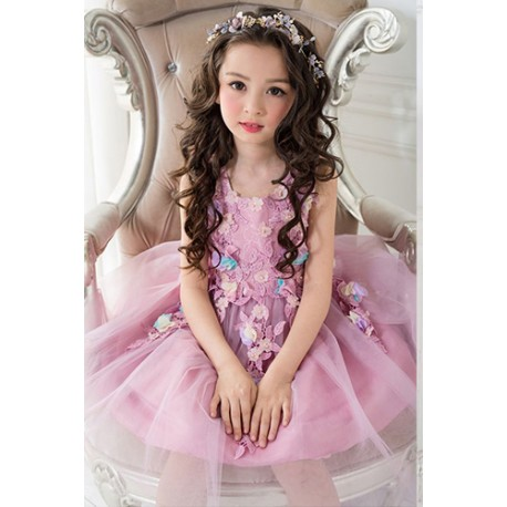 Elegant Dress Pageant Tulle Formal Party Dress