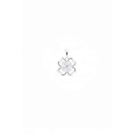 I love LOVE Olivia I3 white gold diamond pendant