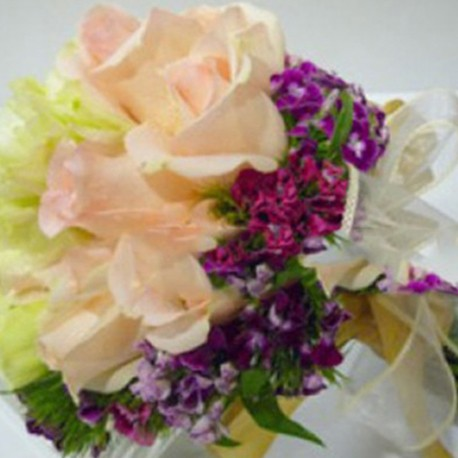 Summerpots Bridal Bouquet - Shades of Spring