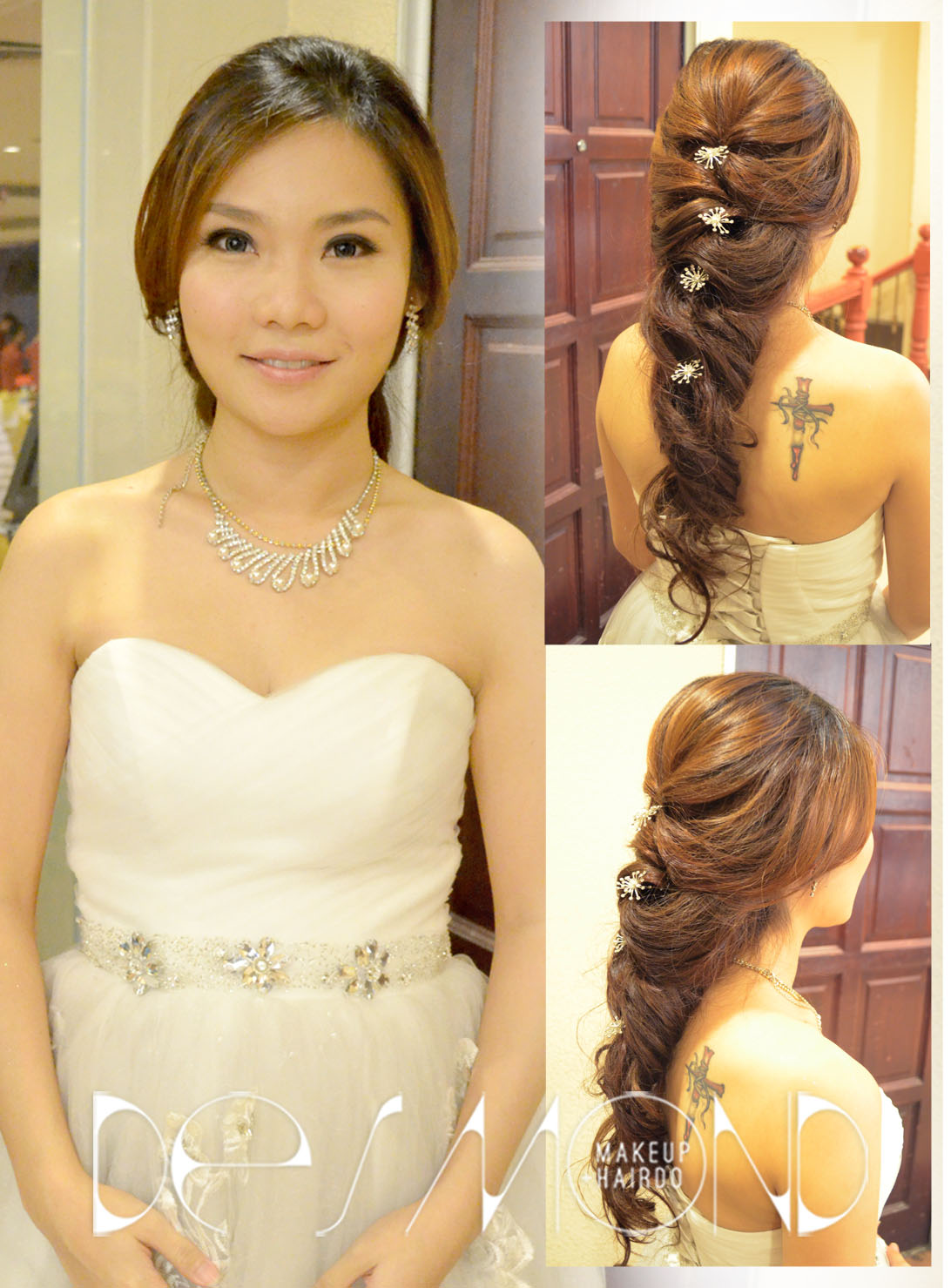Wedding Dinner Bridal Makeup Hair By Desmond Makeup