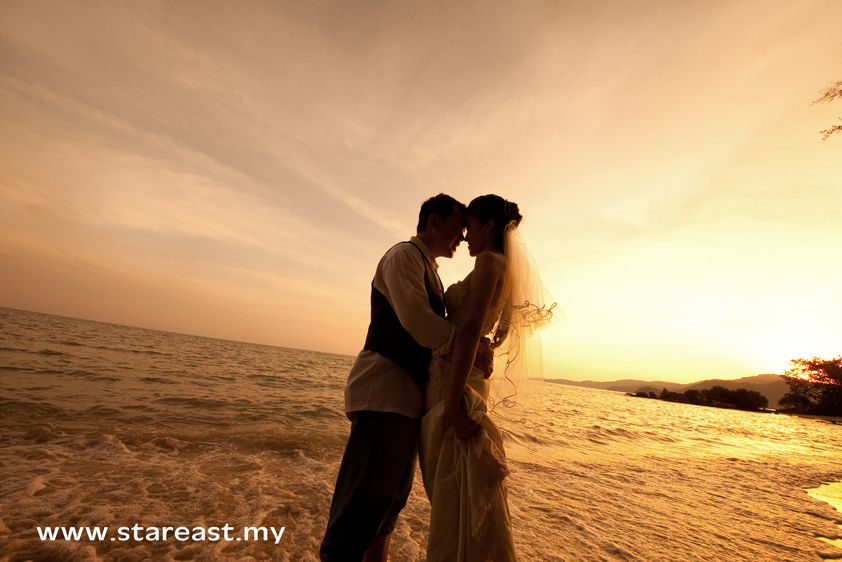 Wedding photography-Sunset theme