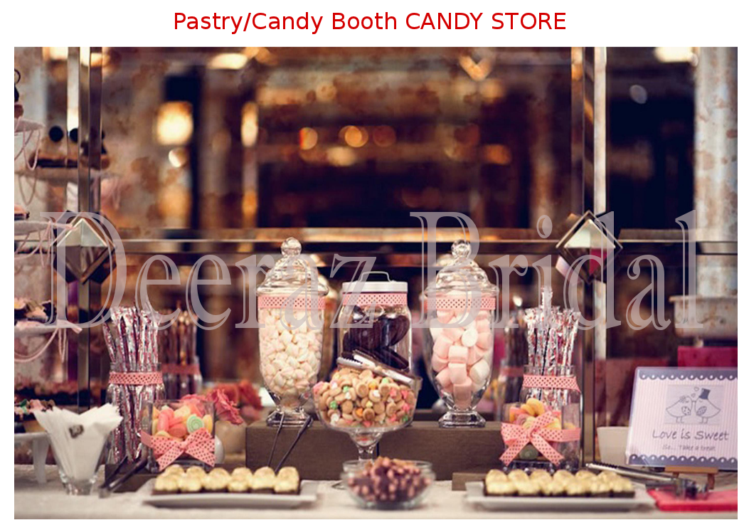 Pastry/Candy Booth
