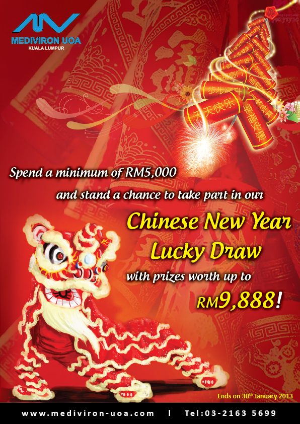 Chinese New Year Lucky Draw  Beauty