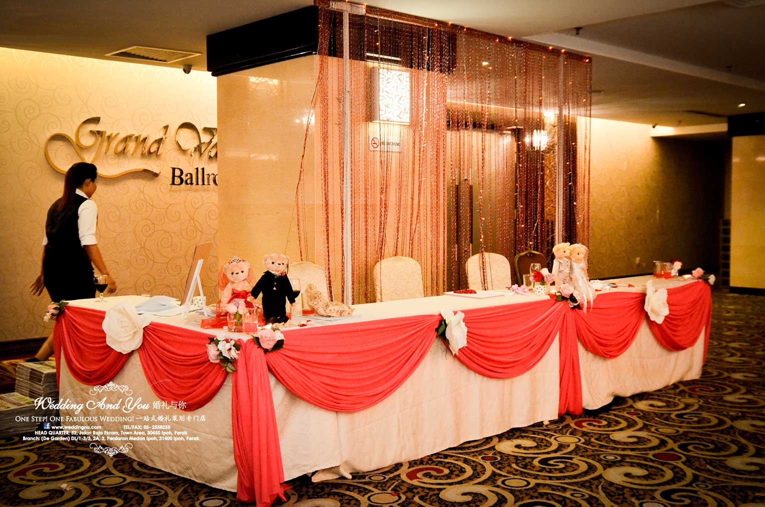 Reception counter decoration wedding and you junglespirit Images
