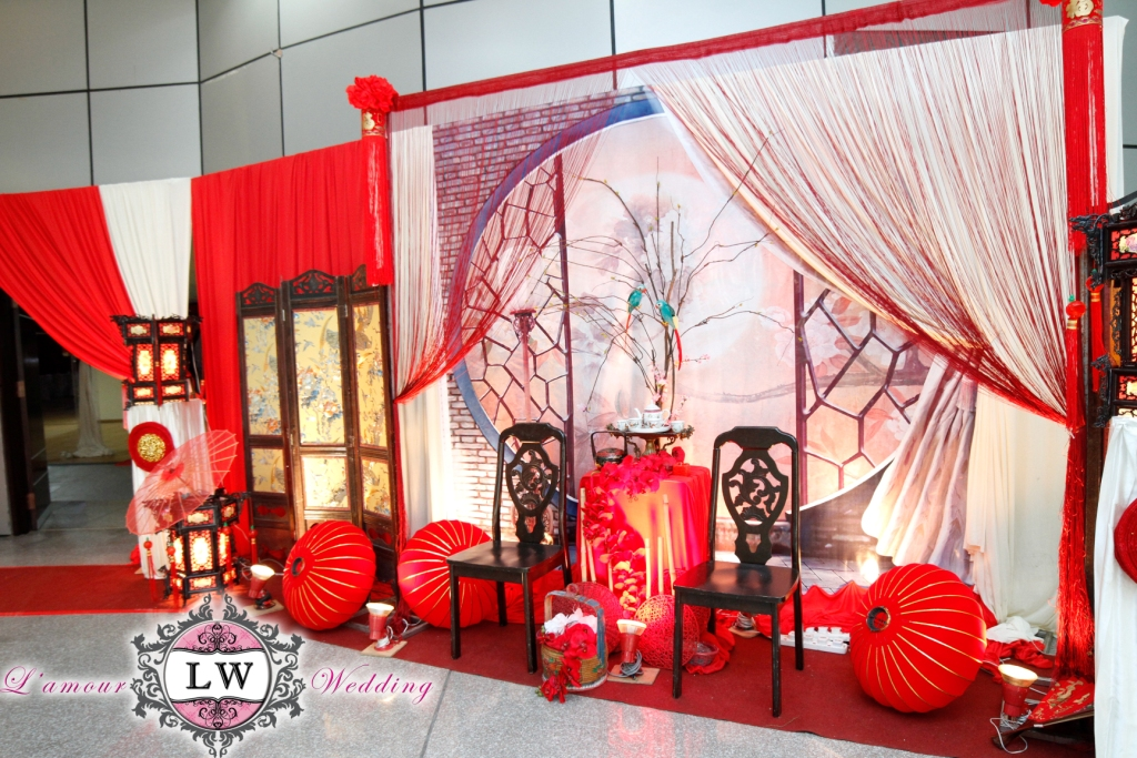 Tradisional chinese theme decoration
