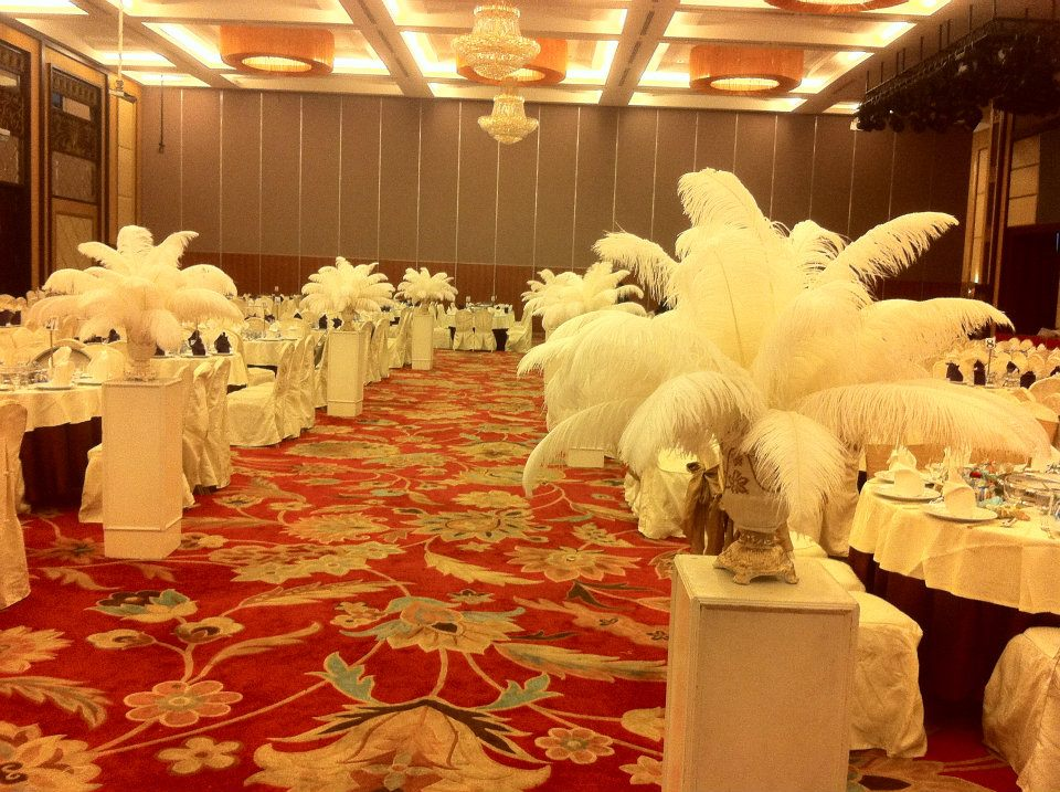 Malay Wedding Dinner Setup