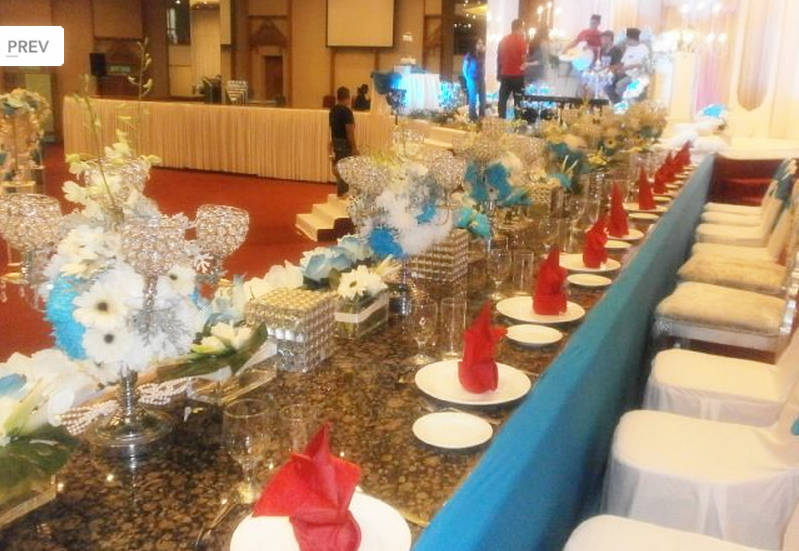 Table Setting with Decoration