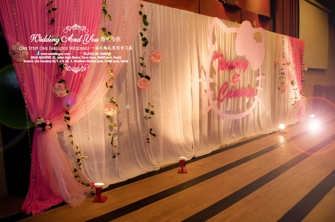 Wedding stage decoration hello kitty decoration wedding stage decoration hello kitty junglespirit Images
