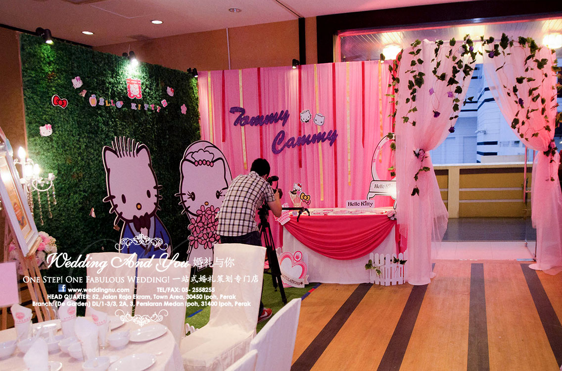 Hello kitty photo booth photo corner decoration hello kitty photo booth photo corner junglespirit