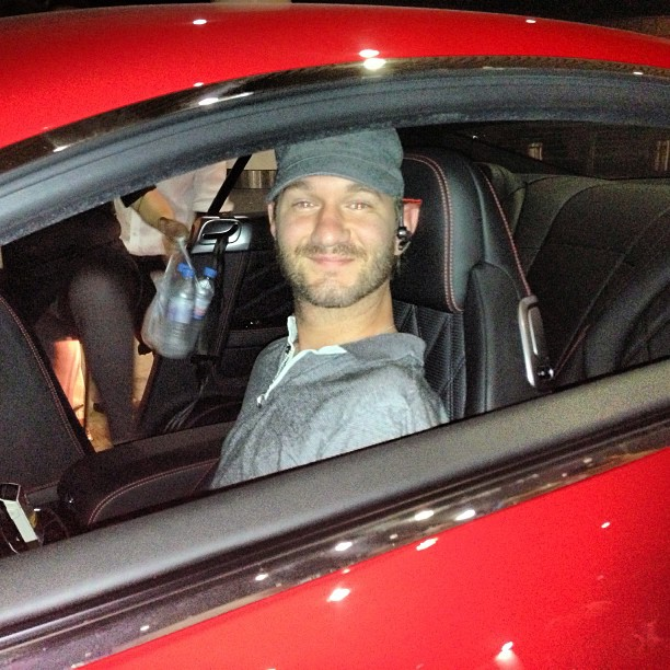 Nick Vujicic with Extreme Supercars