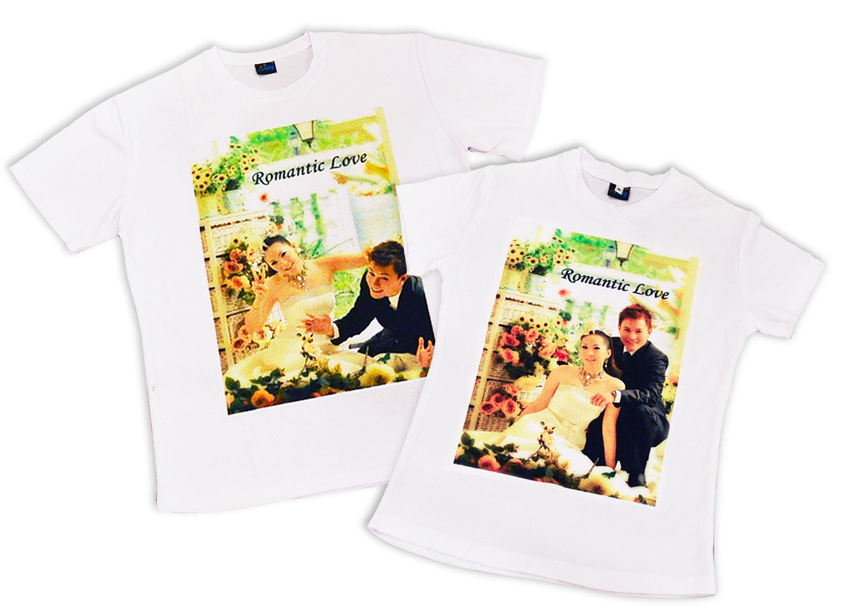 Couple T-shirt With Your Lovely Photos