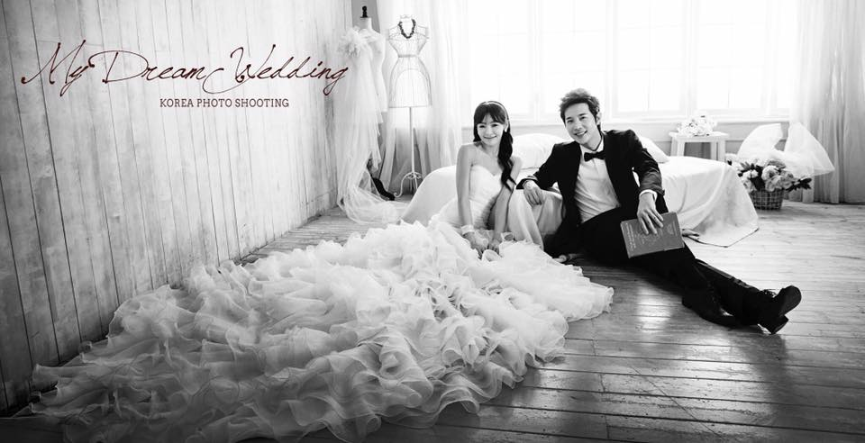 Korea Studio wedding sample