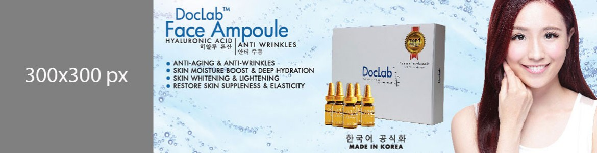 DocLab Hyaluronic Face Ampoules - About Us | Nuren Malaysia
