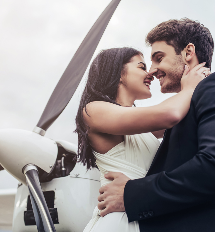 Triumph In The Skies Wedding Package