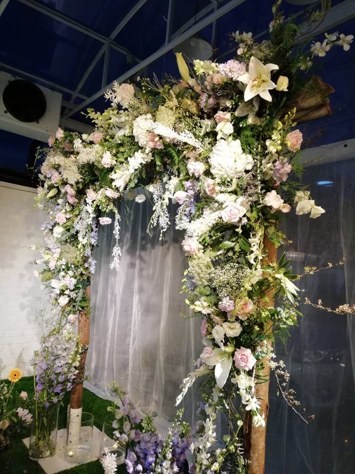 Floral Wedding Party